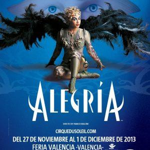 Alegria Valencia nueva fecha